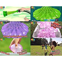 Party Propz Magic Balloon, HIGH QUALITY Water Balloons, Mix Color, Crazy Quick Fill In 60 Seconds 37 Baloons