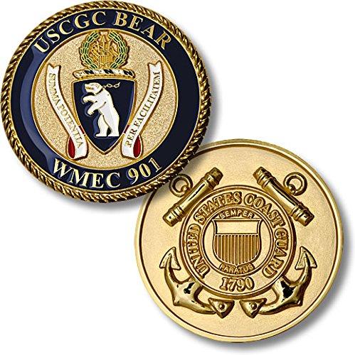 USCGC Bear (WMEC-901) Challenge Coin