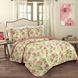 Traditions by Waverly Rolling Meadow 3-Piece Quilt Collection King