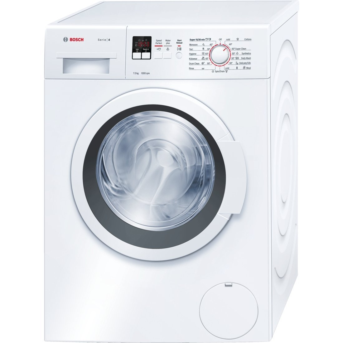 Bosch WAK20160IN Fully-automatic Front-loading Washing Machine (7 Kg , White) By Amazon @ Rs.25,960
