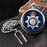 Ministry of Defence (MOD) Police Pocket Watch with Gift Box