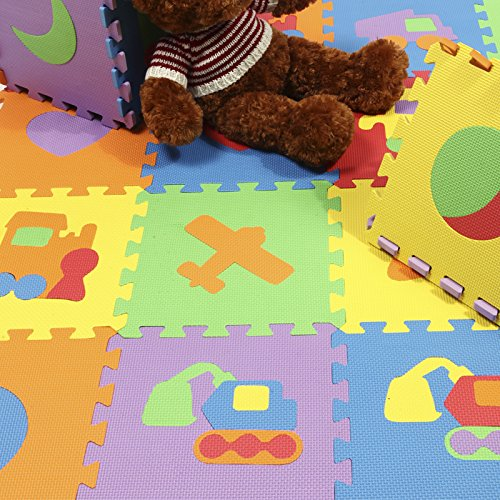 Top Quanlity And Eco-Friendly Puzzle Baby Play Crawling Mat Child Foam Puzzle Mats 10Piece/Lot Protection Mat front-918122