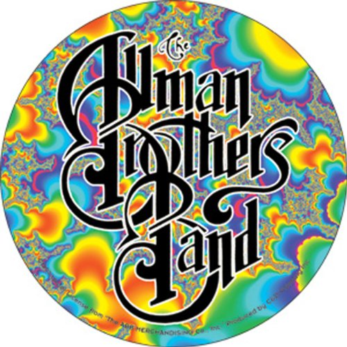 Licenses Products Allman Fractal Logo Sticker