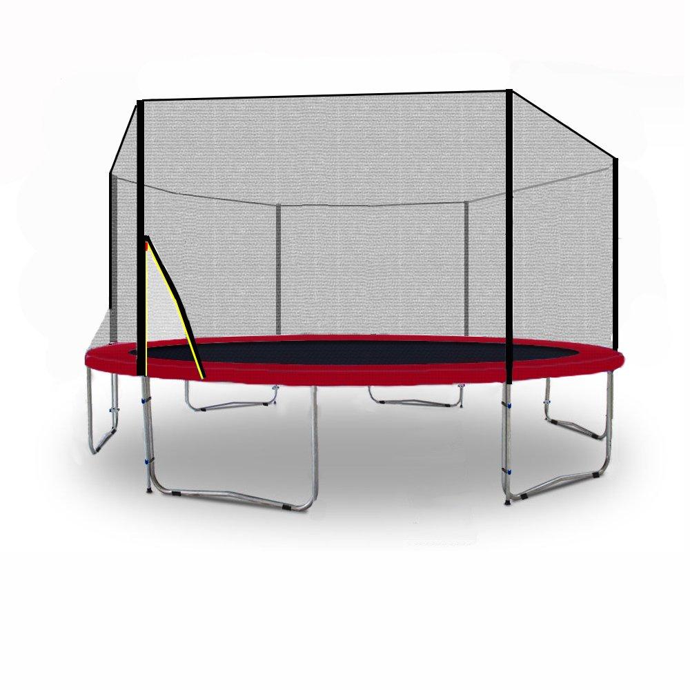 BL-T370-KS12 (RW) Garten- Trampolin 370cm, Robustes Netz, Leiter, Plane – TÜV/GS/CE günstig bestellen
