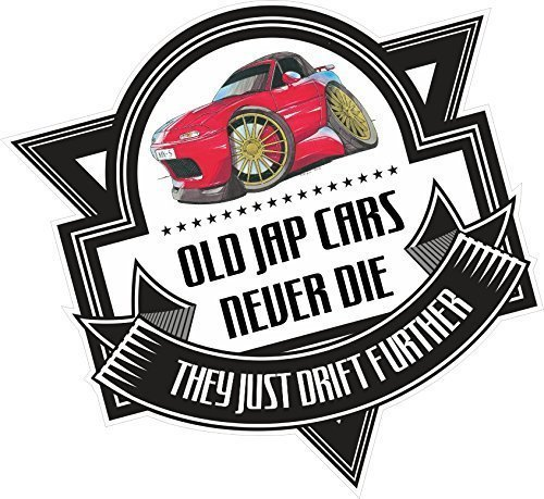koolart-cartoon-old-jap-autos-never-die-neuheit-slogan-fur-old-skool-mazda-mx-5-eunos-vinyl-autostic