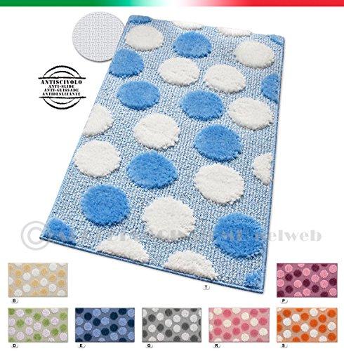 Tappeti blu offerte idee per il design della casa for Amazon tappeti bagno
