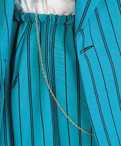 "Rubie's Costume Co "" Zoot"" Suit Chain-Gold Costume - 1"