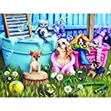 Suds N Pups 300pc Jigsaw Puzzle by Brooke Faulder