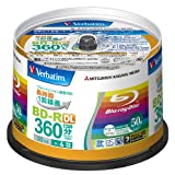 Verbatim Blu-ray Disc 50 Spindle - 50GB 4X BD-R DL - 2011by Verbatim