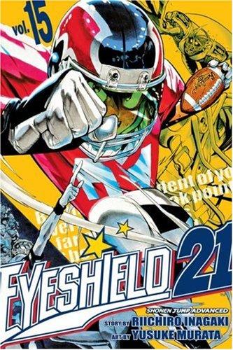 アイシールド21 コミック15巻 (英語版)