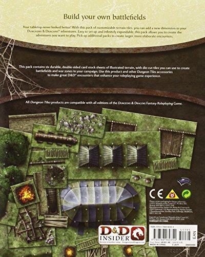 D&D Ruins of War Dungeon Tiles (Dungeons & Dragons)