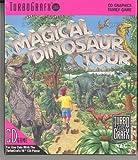 TurboGrafx Magical Dinosaur Tour Rare Manufactured in Japan