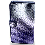 myLife Dark Black + Lavender Purple Ombre Diamonds {Glamorous Design} Faux Leather (Multipurpose - Card, Cash... by myLife Brand Products