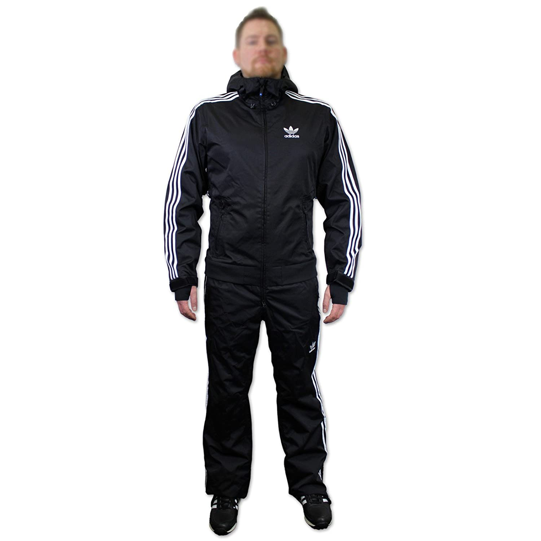 Adidas ADIDAS FIREBIRD 1PIECE Jacket black schwarz