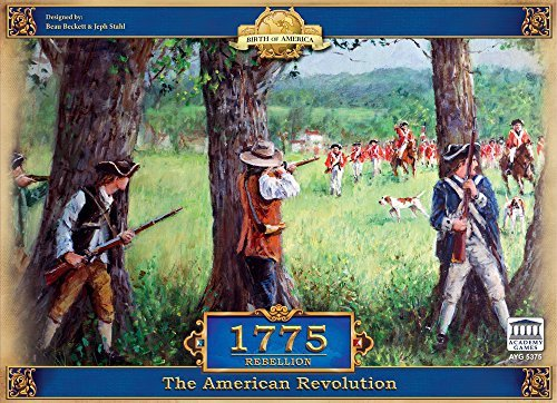 1775 - Rebellion (Revolutionary War British Side compare prices)