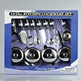 Great For Little Homemakers 16 Piece Kitchen Cooking Set