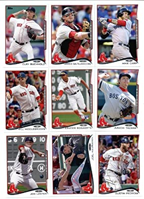 2013 & 2014 Topps Boston Red Sox Baseball Card Team Sets (Complete Series 1 & 2 From Both Years) Includes 2013 World Champions Set