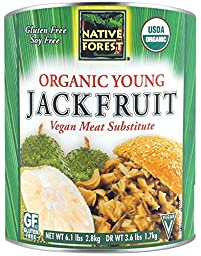 Native Forest Organic Young Jackfruit Can, Foodservice Size, 6.1 Pound