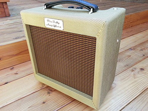 FireBelly Tweed Jr. -Vintage Tube Guitar Amplifier, Class-A, Hand built, 8-10 Watts