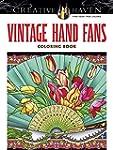 Creative Haven Vintage Hand Fans Colo...