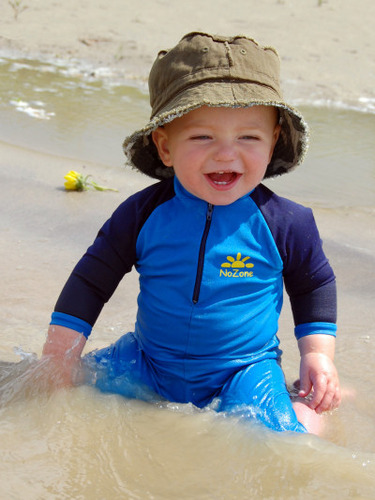 We use the highest rated UPF 50+ sun protective fabric and for our items. SwimZip sun hats, sunsuits, zipper rash guard swim shirts, trunks, sun shirts, and other SPF beachwear products are top rated for time spent around water and sun.