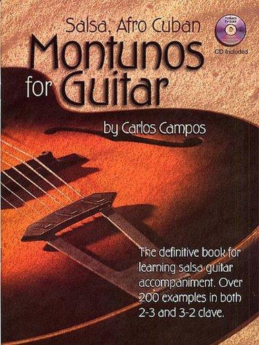 Salsa Afro Cuban Montunos for Guitar Cam