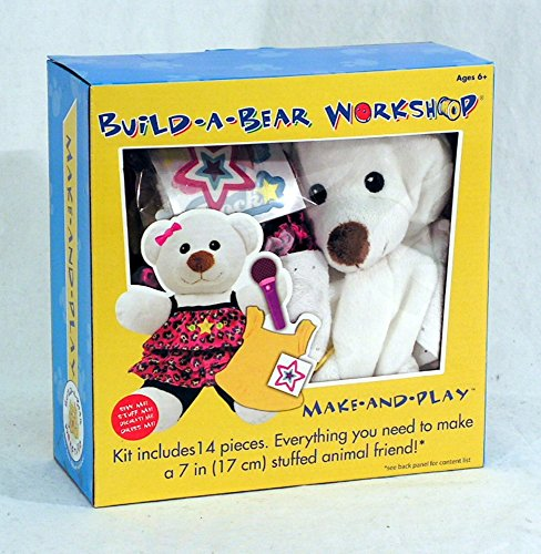 Colorbok Build A Bear Kit, Polar Bear Rocker front-530991