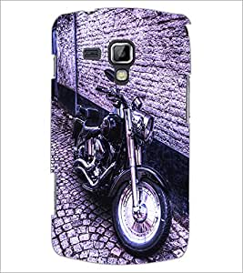 PrintDhaba Bike D-2839 Back Case Cover for SAMSUNG GALAXY S DUOS 2 S7582 (Multi-Coloured)