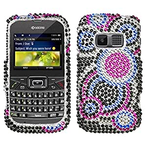Asmyna KYOS3015HPCDM015NP Dazzling Diamante Bling Case for Kyocera Brio S3015 - 1 Pack - Retail Packaging - Bubble