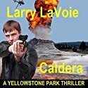 Caldera: A Yellowstone Park Thriller Audiobook by Larry LaVoie Narrated by Michael Lesley