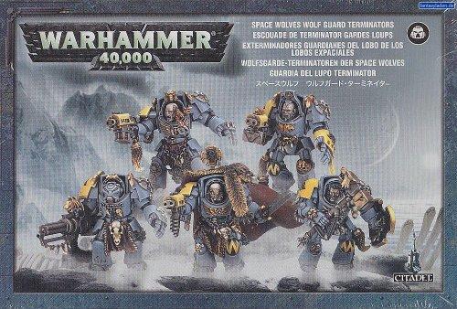 Wolf Guard Space Marine Terminator Squad Warhammer 40k
