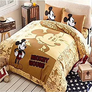 New Cotton King Size Bed 3 4pcs Sheet Bedding