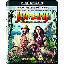 Jumanji: Welcome to The Jungle [4K Ultra HD + Blu-ray]