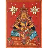 "Dolls Of India ""Goddess Bhagawati"" Reprint On Paper - Unframed (40.01 X 30.48 Centimeters)"