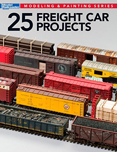 25 Freight Car Projects (Modeling & Painting) (Freight Car compare prices)