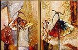 Santin Art-Ballerina Dancer-Modern Canvas Art Wall Decor-Abstract Oil Painting Wall Art