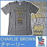 (ジャンクフード)JUNK FOOD Tシャツ チャーリー ブラウン ジャンクフード 5060 メンズ 半袖 T シャツJUNKFOOD MENS PEANUTS CHARLIE BROWN TEE PN203-6062 [並行輸入品]