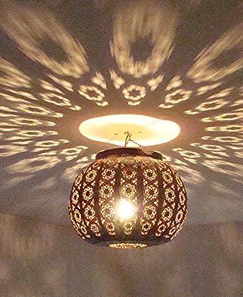 Lustre plafonnier marocain en m tal cisel 40cm lampe boule marocaine lantern - Plafonnier boule chinoise ...