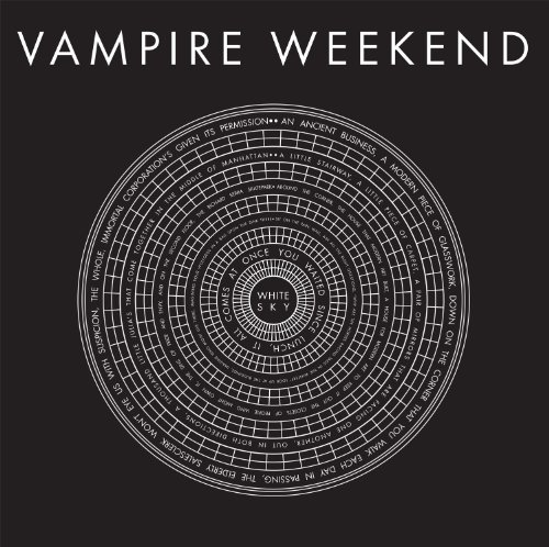 Vampire Weekend CD Cov...