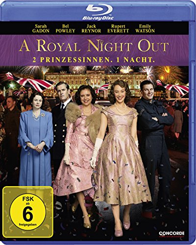 A Royal Night Out - 2 Prinzessinnen. 1 Nacht [Blu-ray]