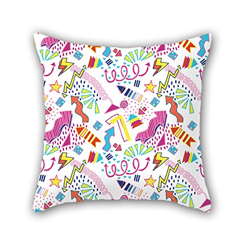 NICEPLW Christmas Throw Cushion Covers 20 X 20 Inches / 50 By 50 Cm For Boy Friend,festival,deck Chair,kids Room,couch With Twice Sides (Angled Wine Cooler compare prices)