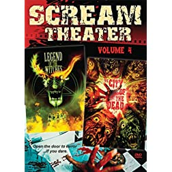 Scream Theater Double Feature Vol 4: City of the Dead & Legend of the Witches