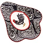 Rooster Stoneware Spoon Rest