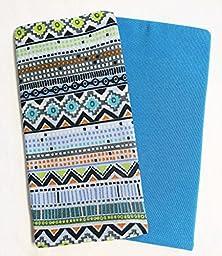 Set of 2 Book Covers: Standard Size - Tribal Geometric Set