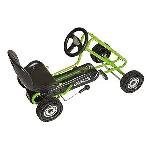 Hauck Race Kart Green Lightning Pedal Go dxoerCWQBE