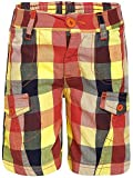 FS Mini Klub Boys' Cotton Shorts (88TBBSB0660 BLUE PLAID 1_3 - 4 Years, Blue, 3 - 4 Years)