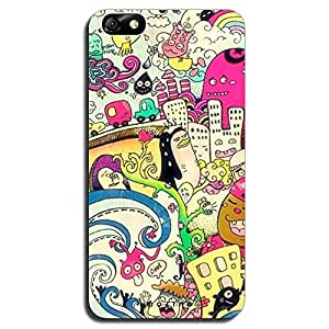 Mozine City Life printed mobile back cover for Huawei honor 4x