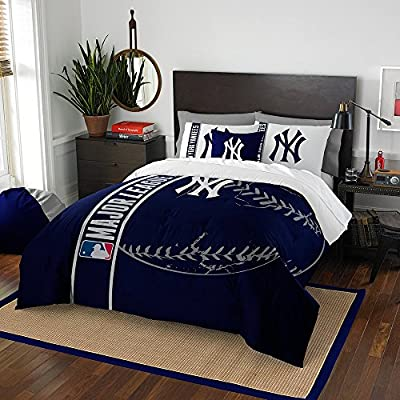 New York Yankees NY Comforter and Sham Bed Set