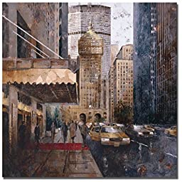 On Park Avenue by Marti Bofarull Premium Gallery-Wrapped Canvas Giclee Art (Ready-to-Hang)
