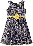 Youngland Little Girls' Ditzy Floral Pointe Dress